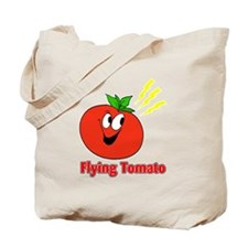 The Flying Tomato Tote Bag