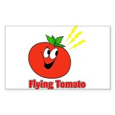 The Flying Tomato Decal