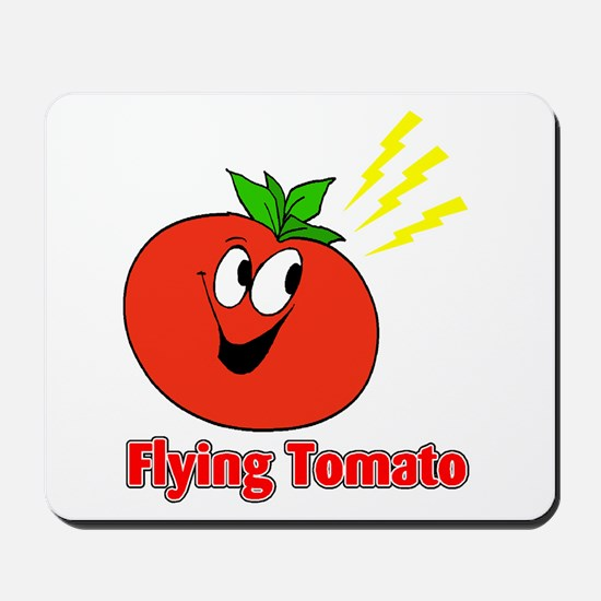 The Flying Tomato Mousepad