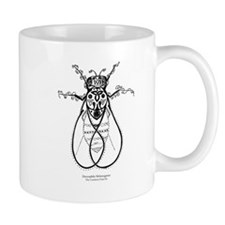 2-fly with words Mugs