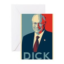 Cheney - DICK Greeting Cards (Pk of 20)
