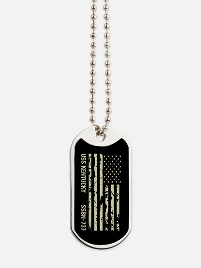 USS Kentucky Dog Tags