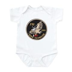 FBI Bomb Technician Infant Bodysuit