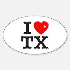 Cute Tx rangers Sticker (Oval)