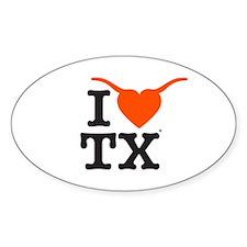 TX Longhorns Decal