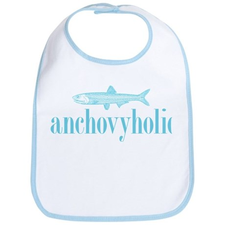 I Love Anchovies Bib