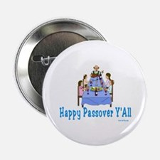 """Happy Passover Y'all 2.25"""" Button"""