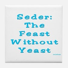 Feast No Yeast Passover Tile Coaster