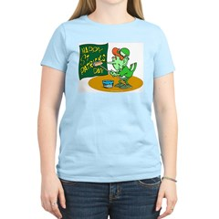Happy St. Patricks Day Women's Pink T-Shirt