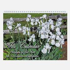 Iris Wall Calendar