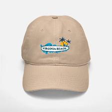 Virginia Beach - Surf Design Baseball Baseball Cap