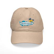 Virginia Beach - Surf Design Baseball Cap