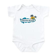 Virginia Beach - Surf Design Infant Bodysuit