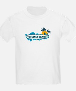 Virginia Beach - Surf Design T-Shirt