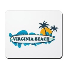 Virginia Beach - Surf Design Mousepad
