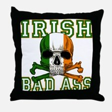 Irish Bad Ass Throw Pillow