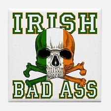 Irish Bad Ass Tile Coaster