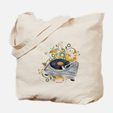 DJ Turntable 3 Tote Bag