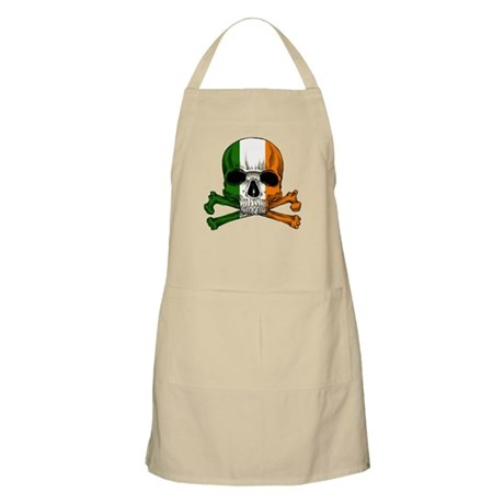 Irish Skull n' Crossbones Apron