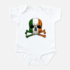 Irish Skull n' Crossbones Infant Bodysuit