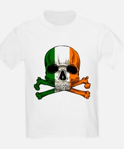 Irish Skull n' Crossbones T-Shirt