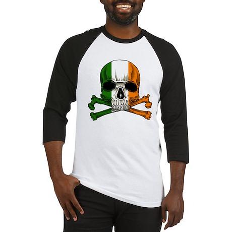 Irish Skull n' Crossbones Baseball Jersey