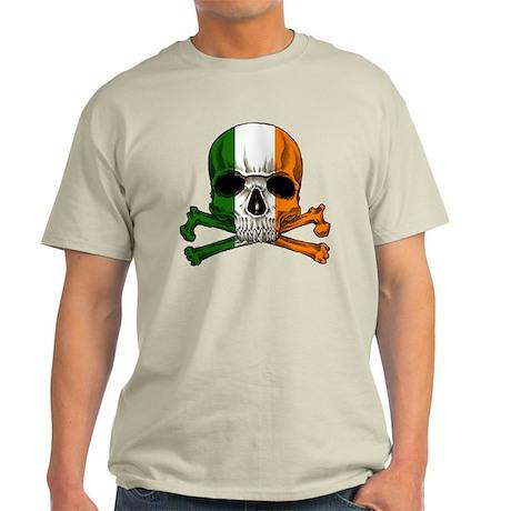 Irish Skull n' Crossbones Light T-Shirt