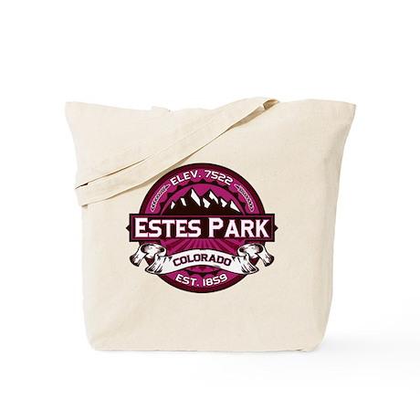 Estes Park Raspberry Tote Bag