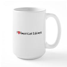 I heart American Eskimos Mug