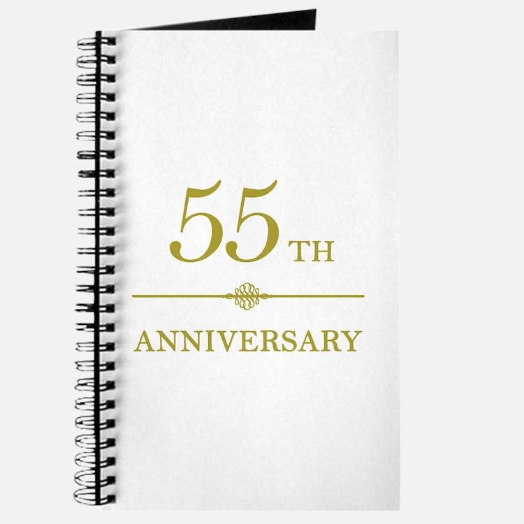 Stylish 55th Anniversary Journal