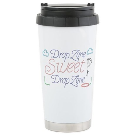 Sweet Drop Zone Stainless Steel Travel Mug