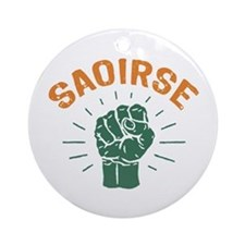 Saoirse Ornament (Round)