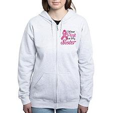 Pink For Sister Zip Hoodie