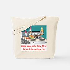 """Gnome on the Range"" Tote Bag"