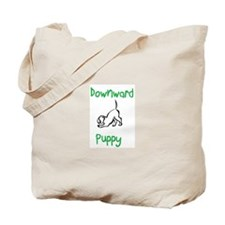 Downward Puppy Tote Bag