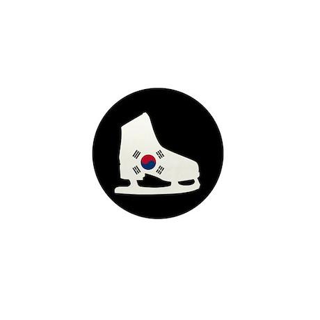 South Korea Skate Mini Button
