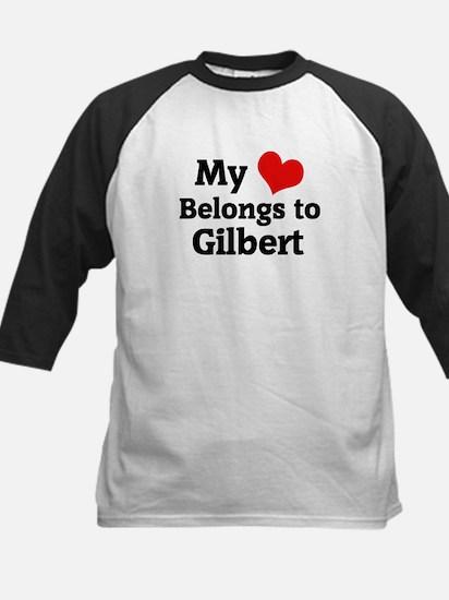 My Heart: Gilbert Kids Baseball Jersey