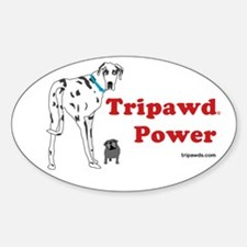 Tripawd Power Decal