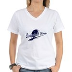 Dodgeball King Women's V-Neck T-Shirt