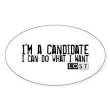 LOST - I'm a Candidate Decal
