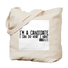 LOST - I'm a Candidate Tote Bag