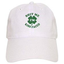 Shit Me I'm Kiss Faced Baseball Cap