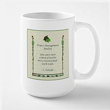 Project Managers Large Mug