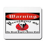 Anti-Valentine Club Mousepad