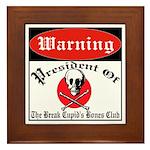 Anti-Valentine Club Framed Tile
