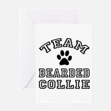 Team Bearded Collie Greeting Cards (Pk of 20)