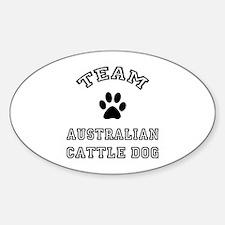 Team Australian Cattle Dog Decal
