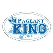 Pageant King Decal