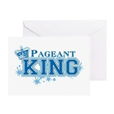 Pageant King Greeting Card