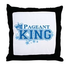 Pageant King Throw Pillow